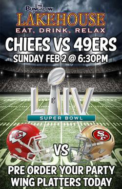 Super Bowl 2020 LH 11x17