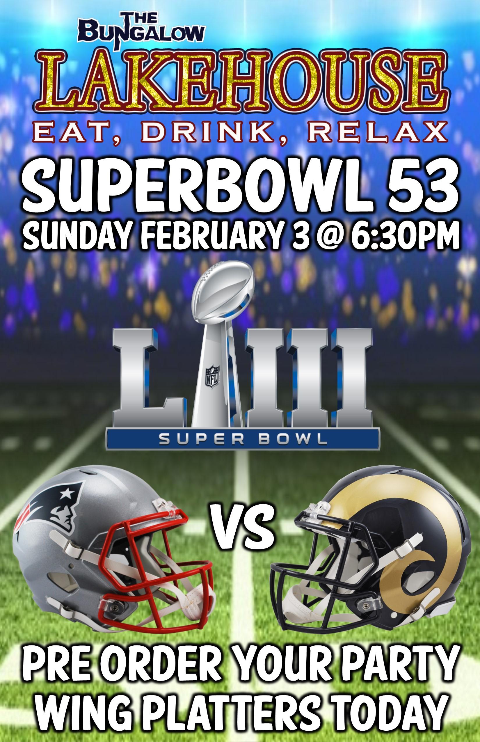 Super Bowl 2019 LH 11x17