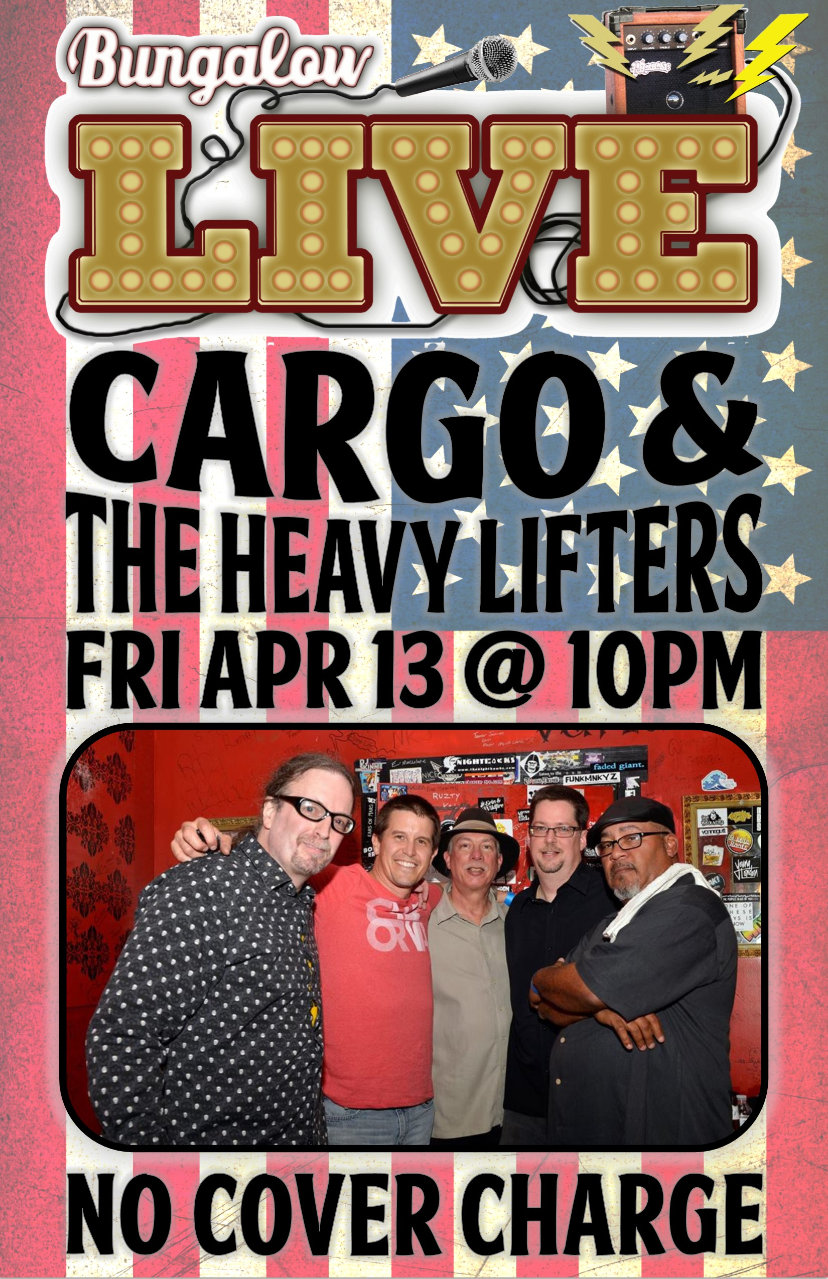 Cargo and the Heavy Lifters Apr  2018