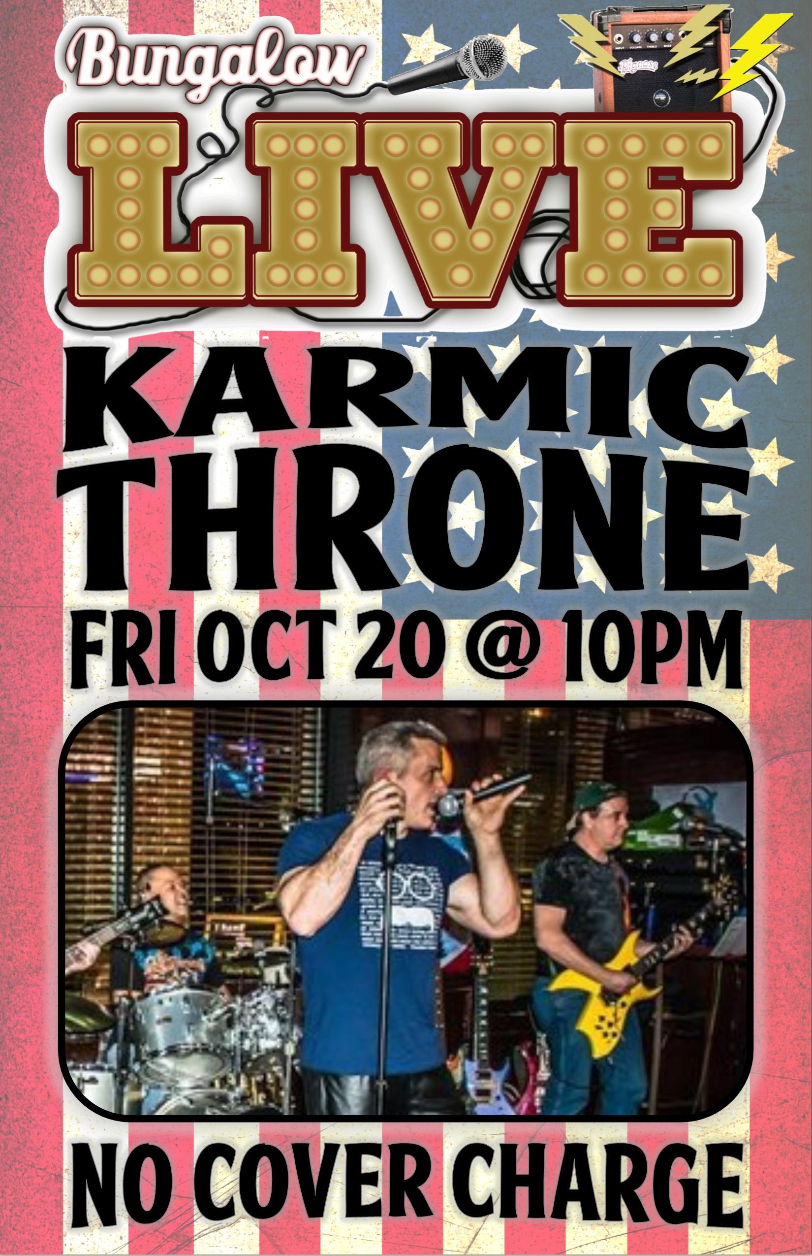 Karmic Throne Oct 2017