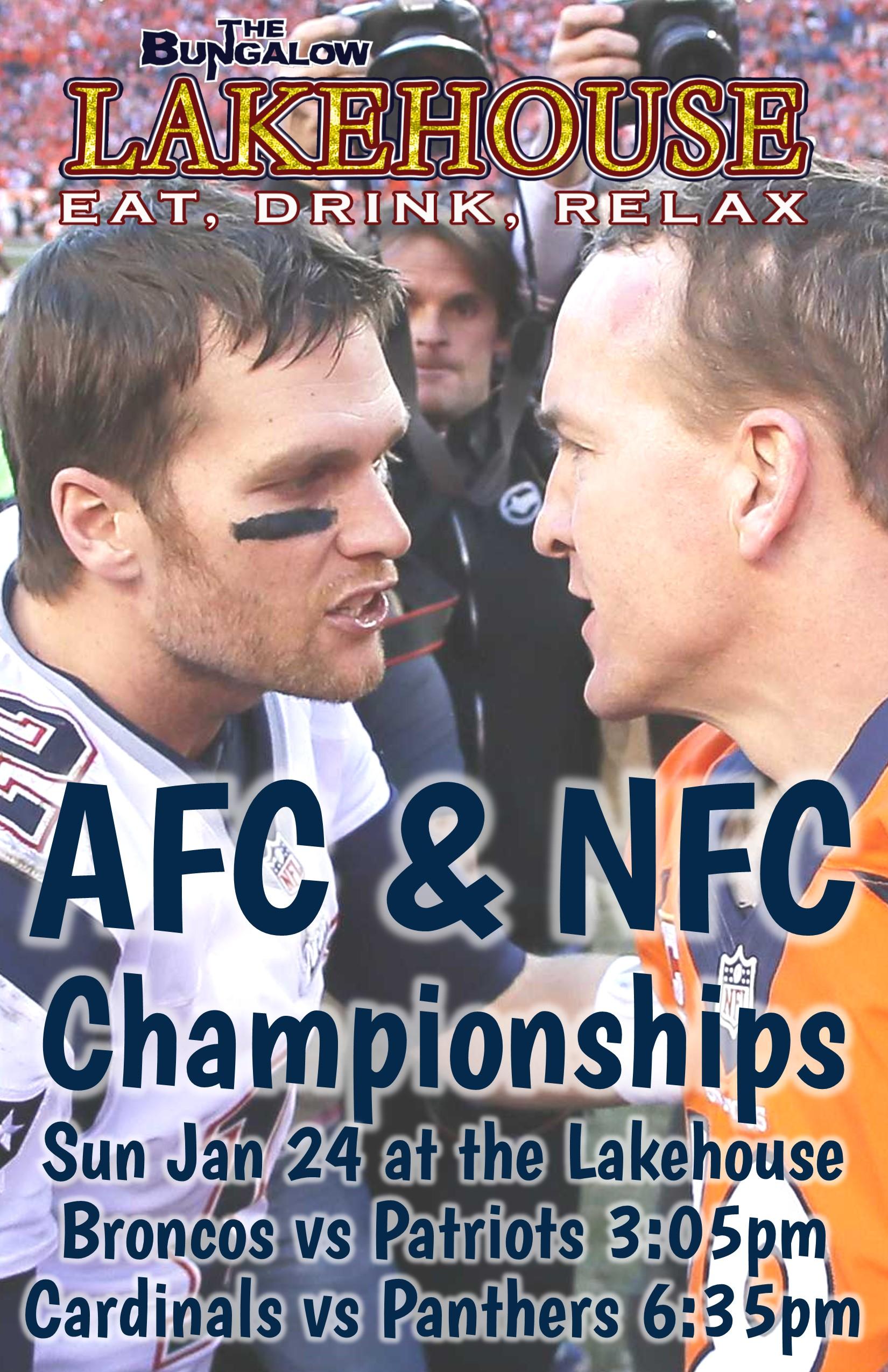 Broncos vs Patriots Lakehouse 2015