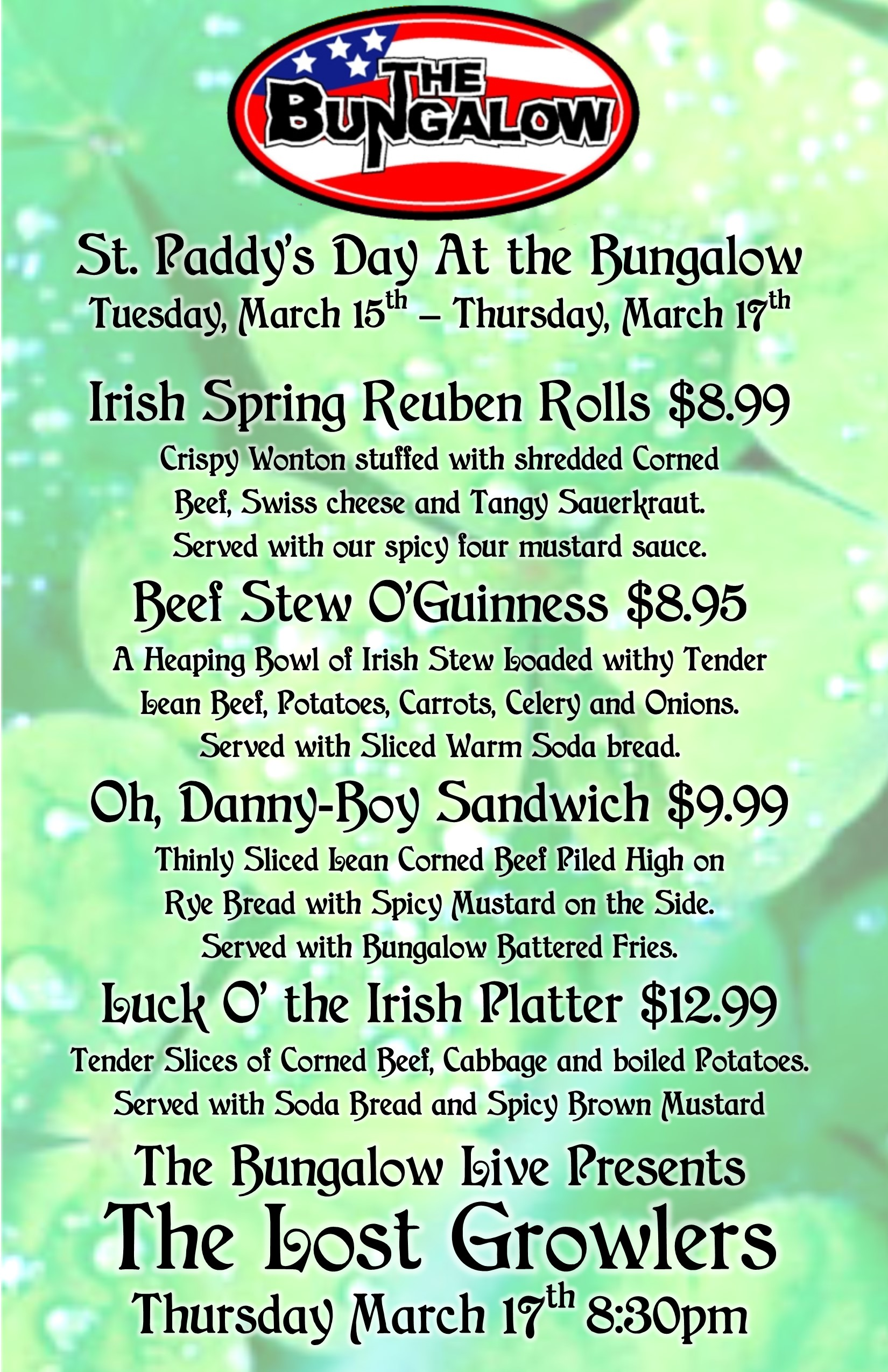 St Paddys day 2016