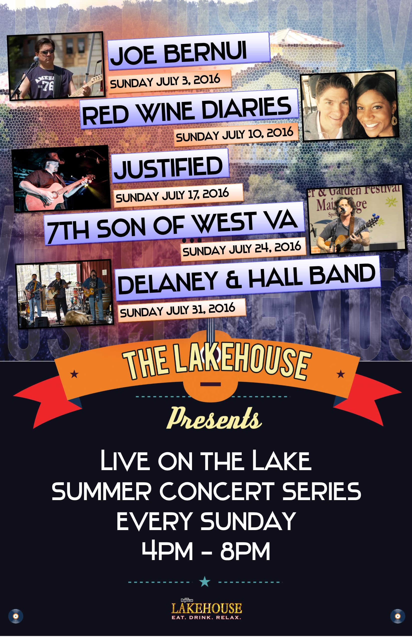 Lakehouse Music July 2016