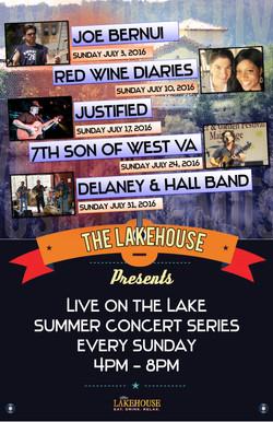 Lakehouse Music July 2016