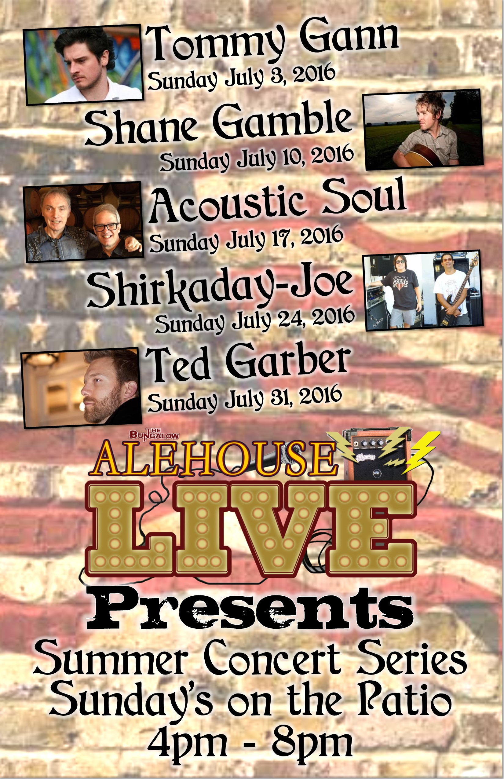 alehouse live July 11x17