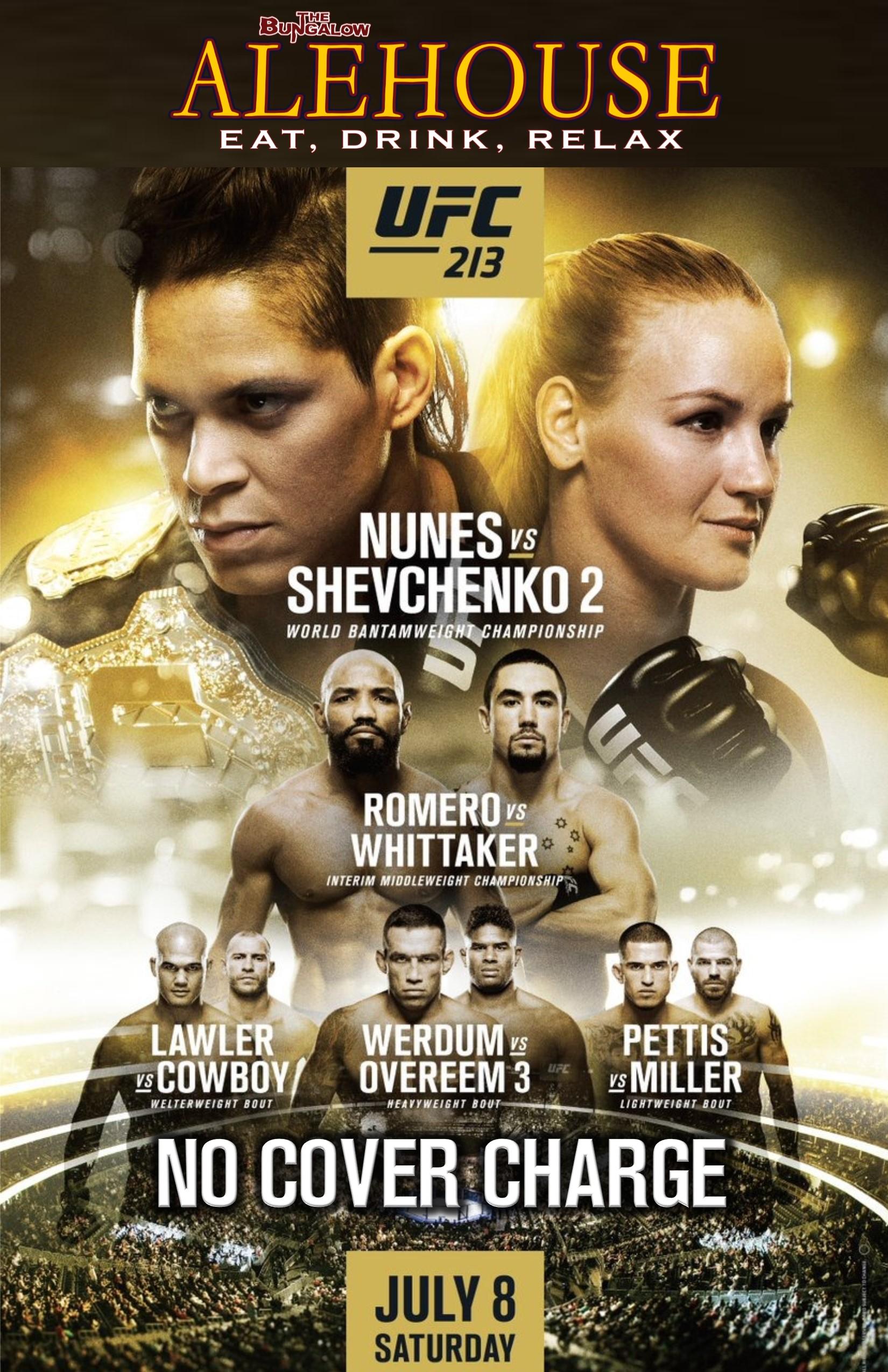 UFC 213 PM