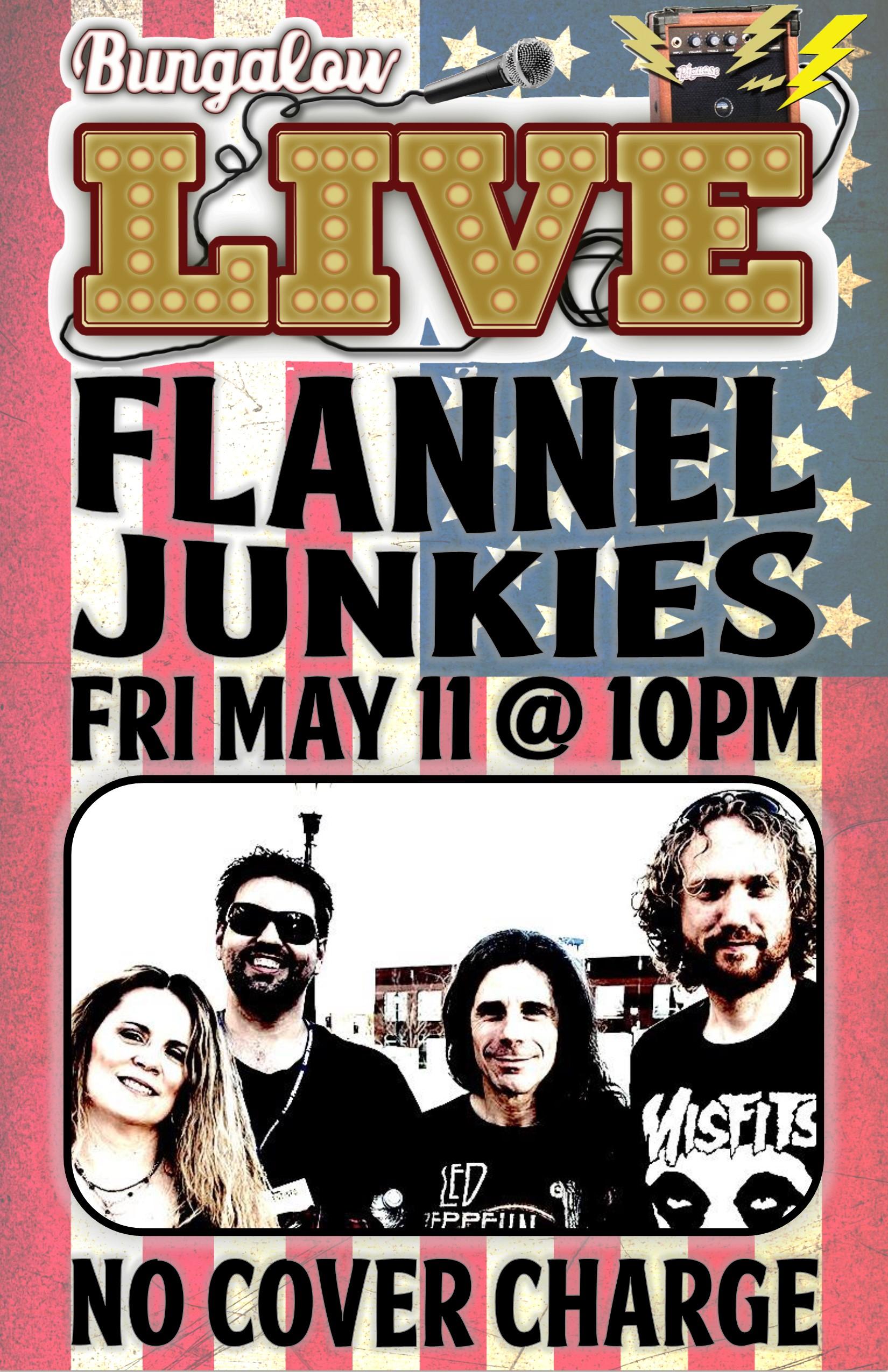 Flannel Junkies May 2018