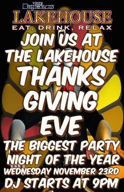Thanksgiving Eve LH