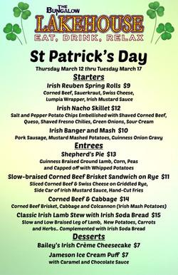 St Patricks Day Music LH 11x17