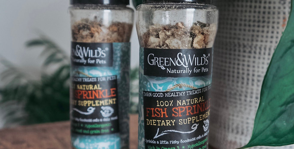 Fish sprinkles - Dietary Supplement