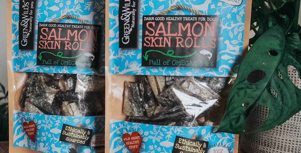 Salmon Skin Rolls