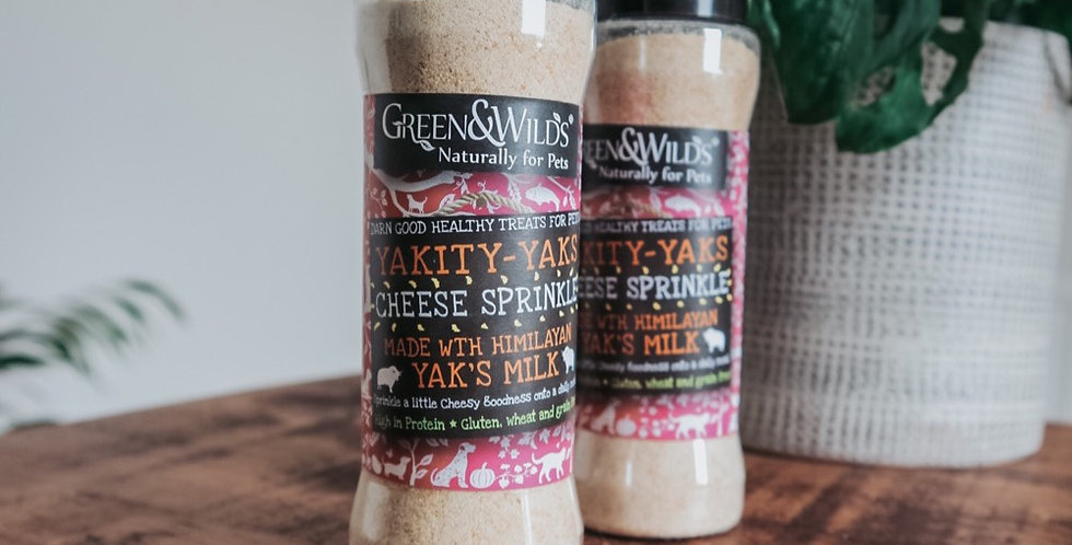 Yakity Yak Cheese Sprinkles - Dietary Supplement