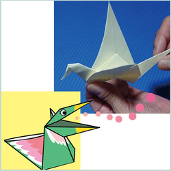 Moving origami