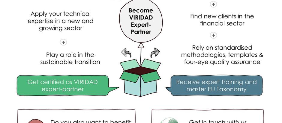 Why join VIRIDAD as expert-partner?