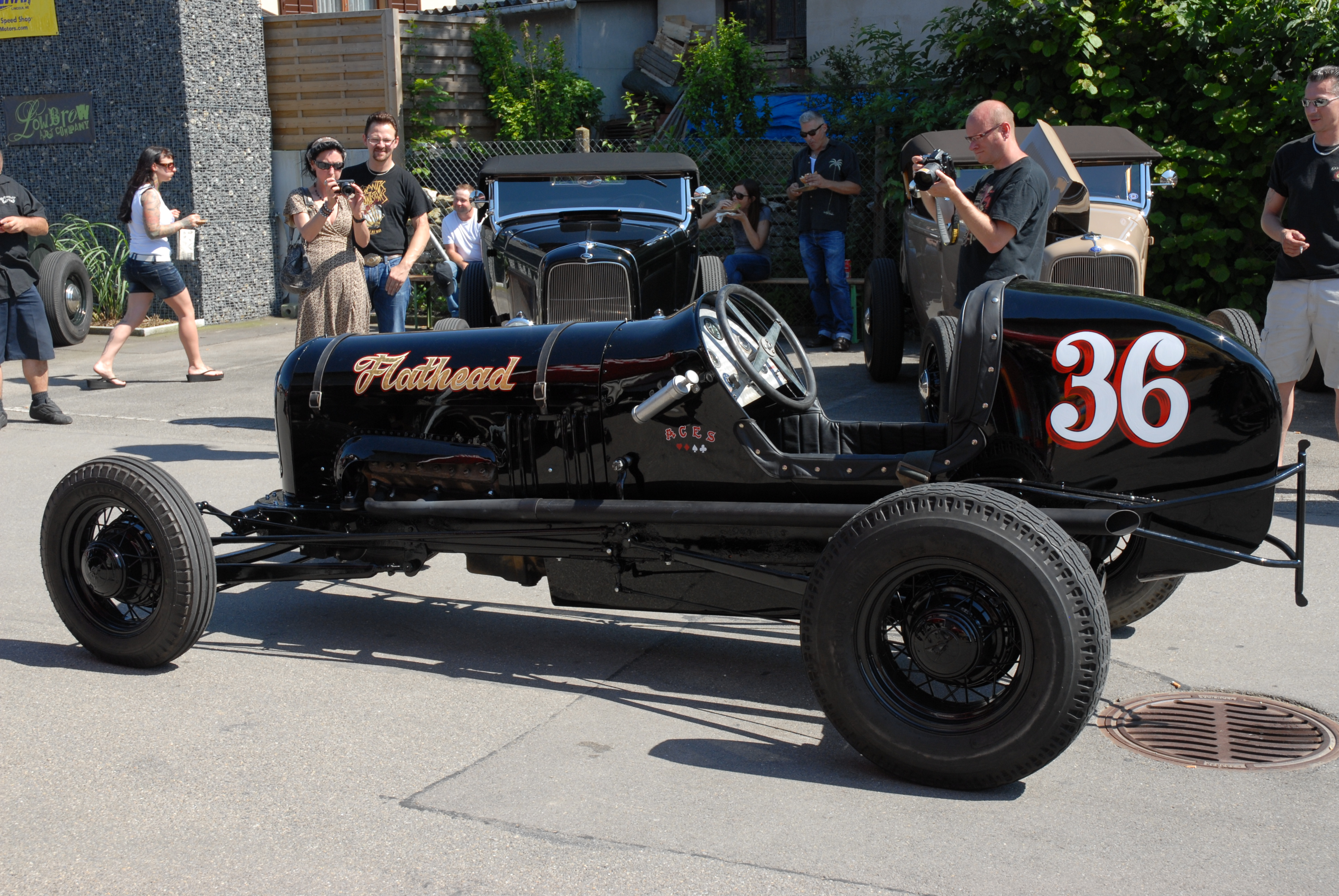 Marcel's dirt track racer