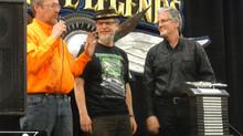 Pinstripe Legends Lifetime Award -Pekka vastaanotti ensimmäisenä USA:n ulkopuolisena arvostetun eläm