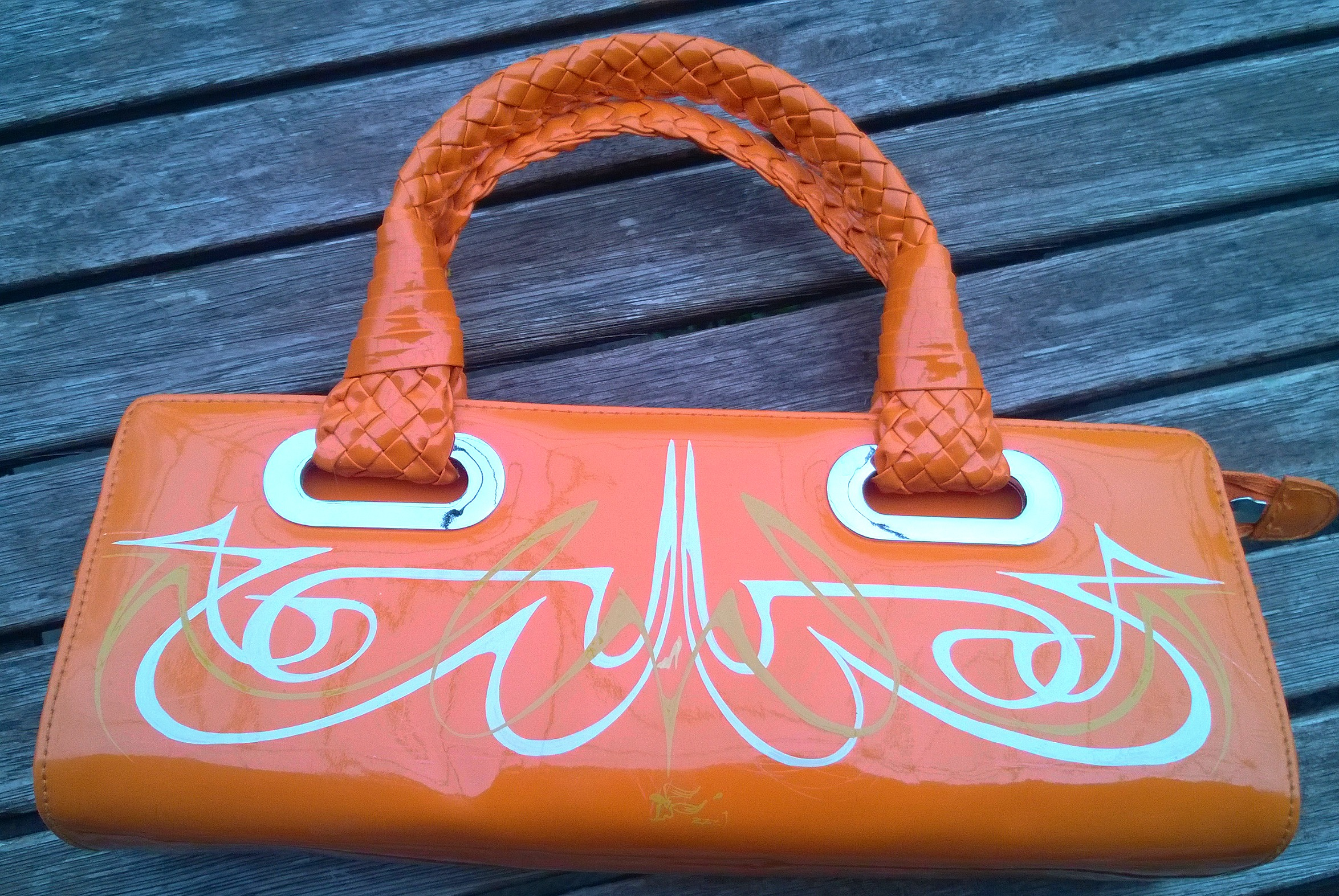 Wizzzcraft brushworks custom purse