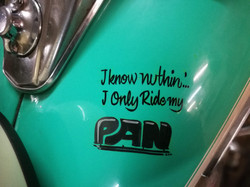 Only ride my pan