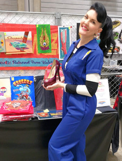 Wizzzcraft brushworks Stiletto for Daniella