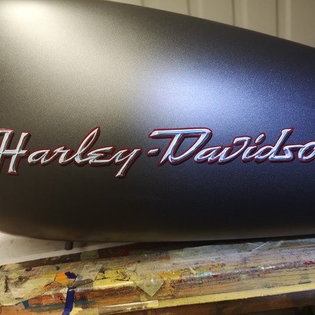 Wizzzcraft Brushworks Motorcycle lettering