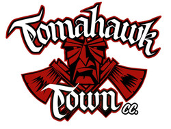 Wizzcrafr brushworks Logo Tomahawk Town