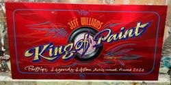Kyltti Pinstripe Legends- valitulle Panel for Pinstripe Legends honoree