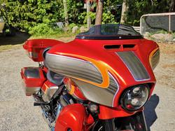 Harley CVO custom paint