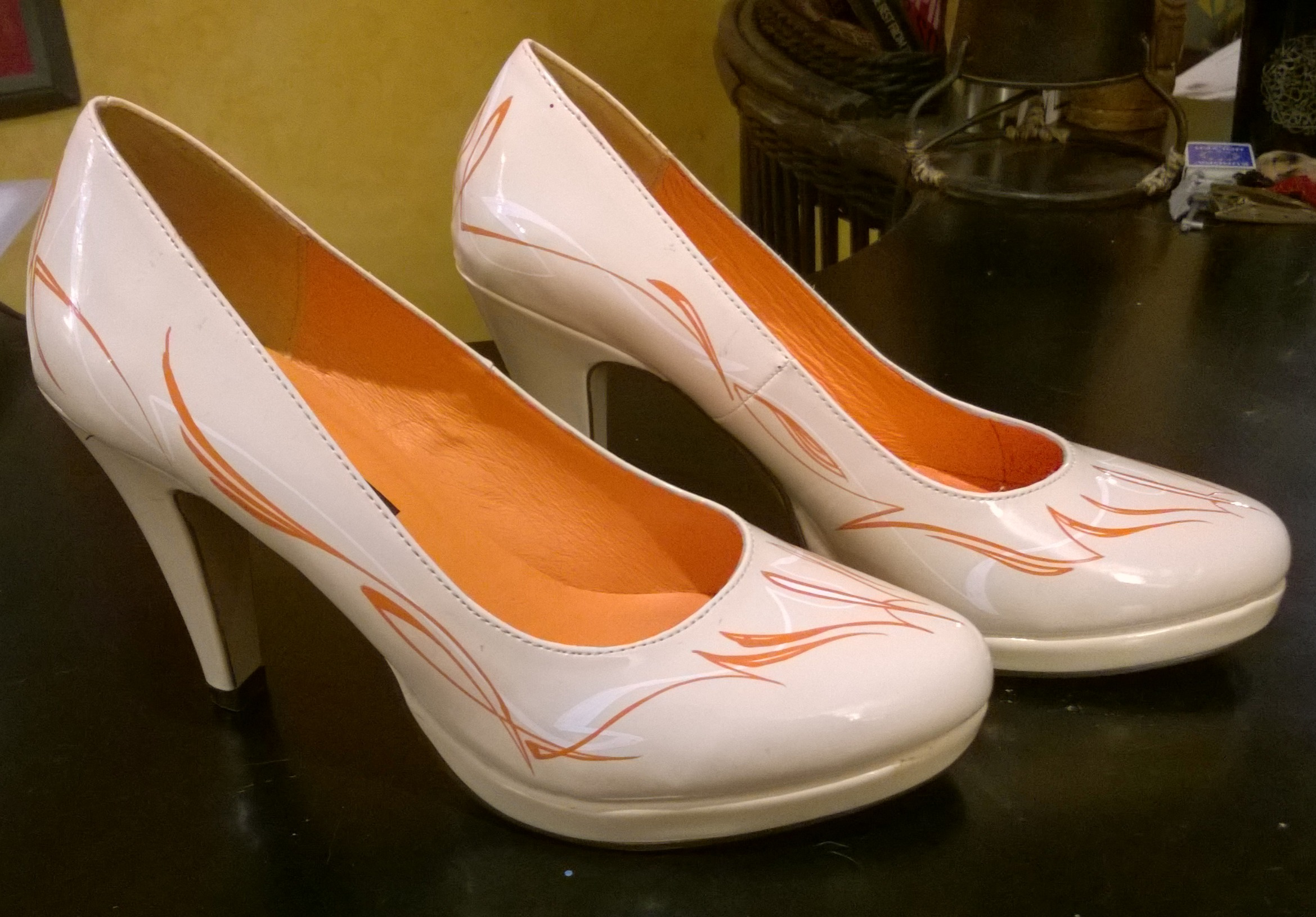 Wizzzcraft Brushworks custom stilettos