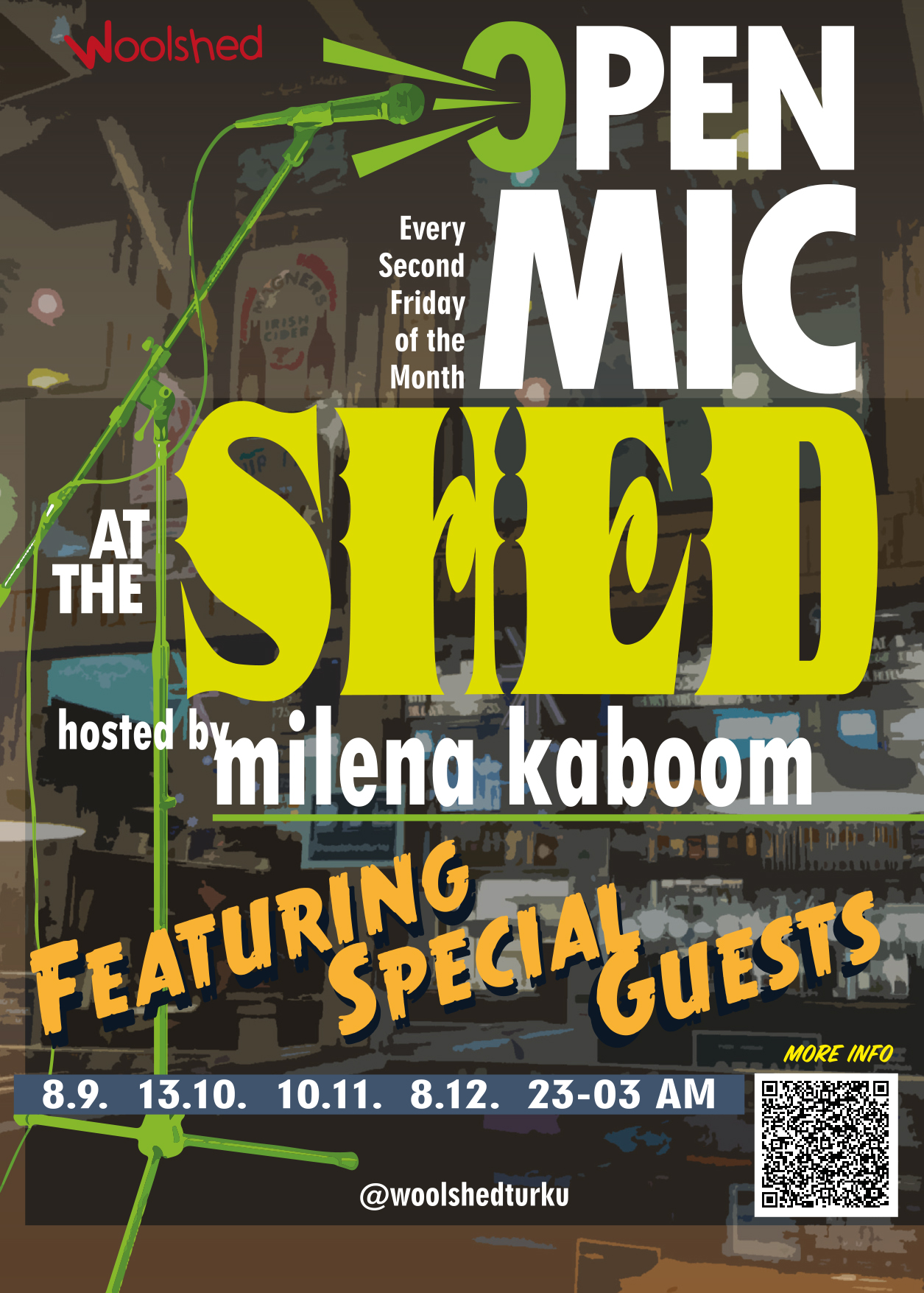 woolshed open mic