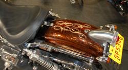 Mexican scroll Harley