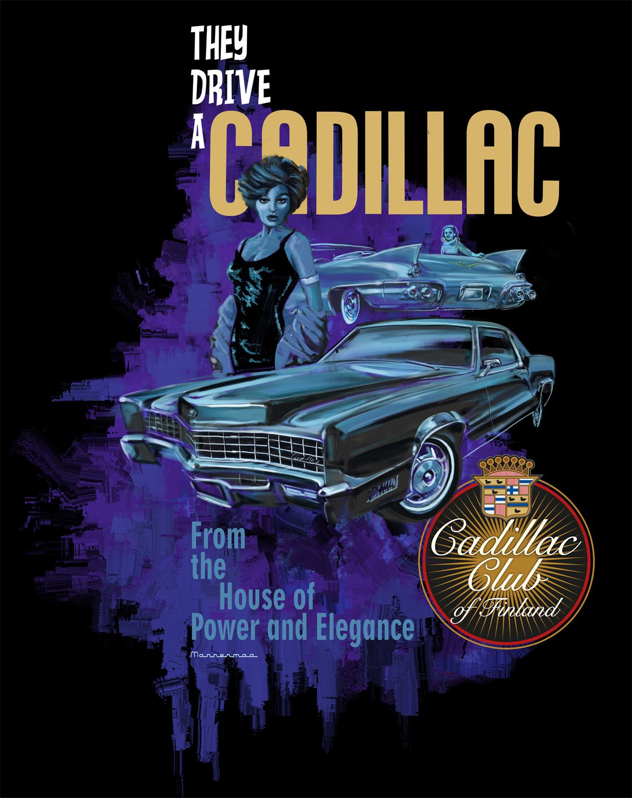 Wizzzcraft brushworks Cadillac Club