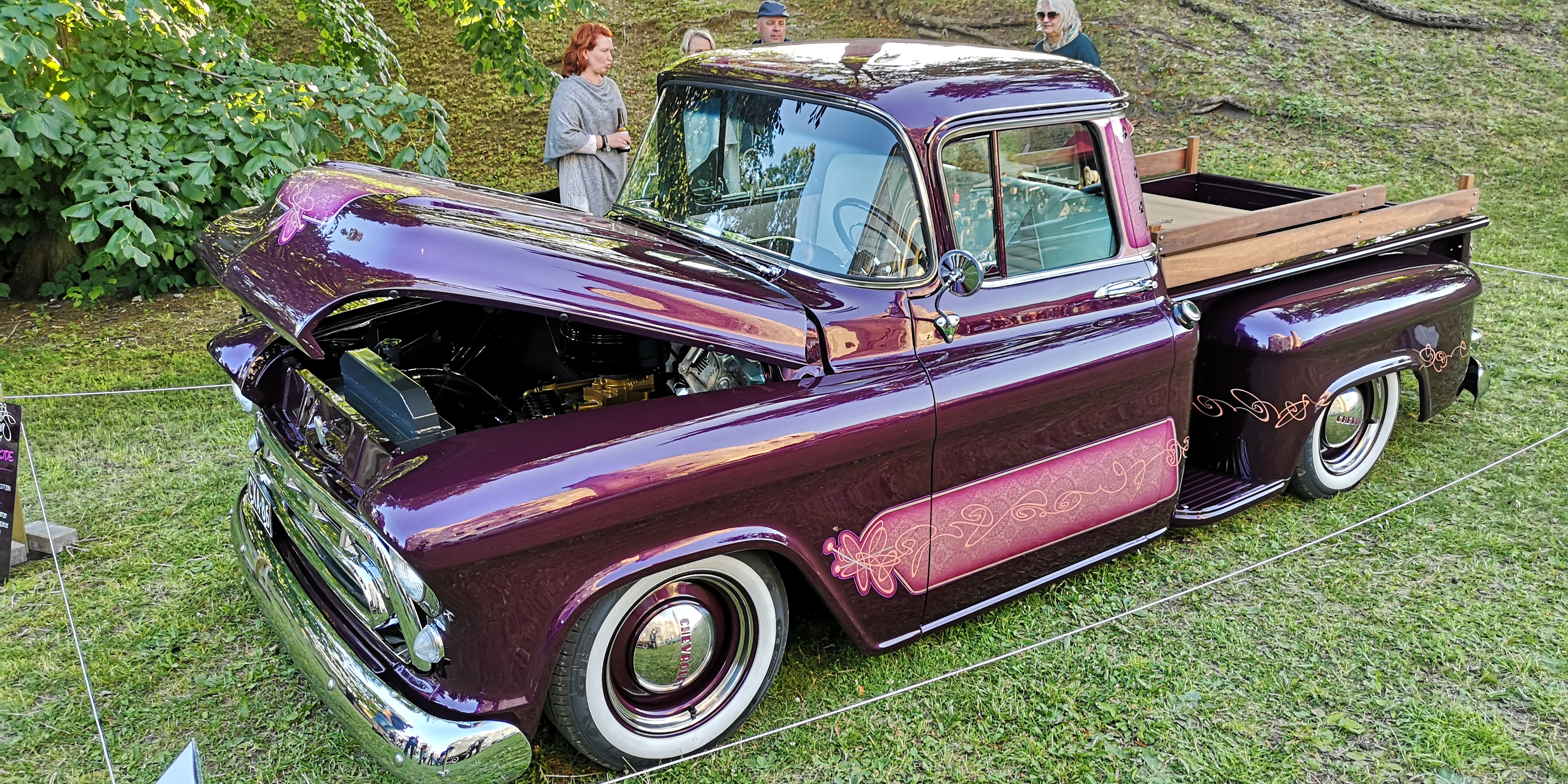 "Chevy 55 Pickup ""Unelma"""