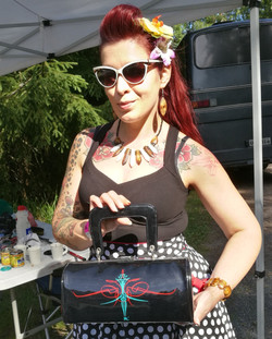 Wizzzcraft brushworks custom purse