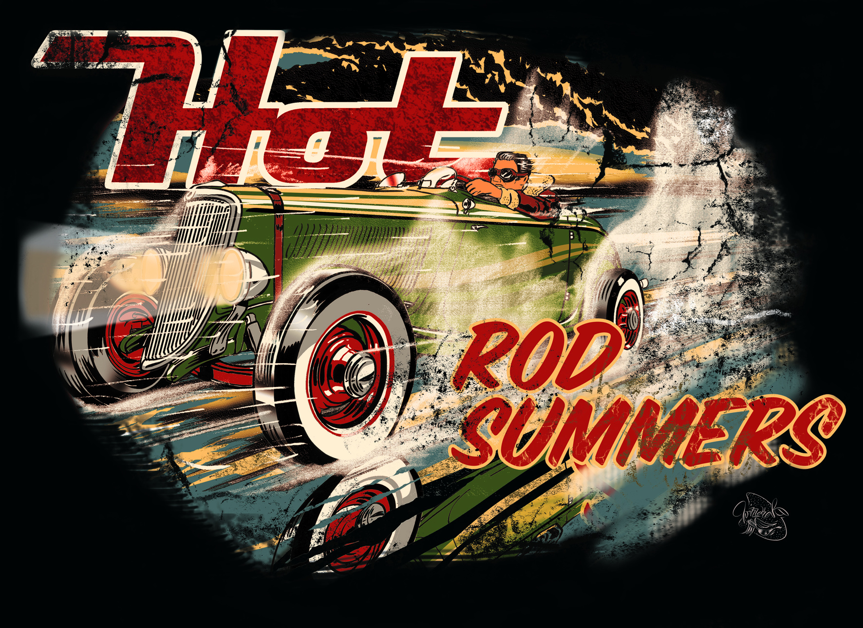 Wizzzcraft Brushworks Hot Rod Summers