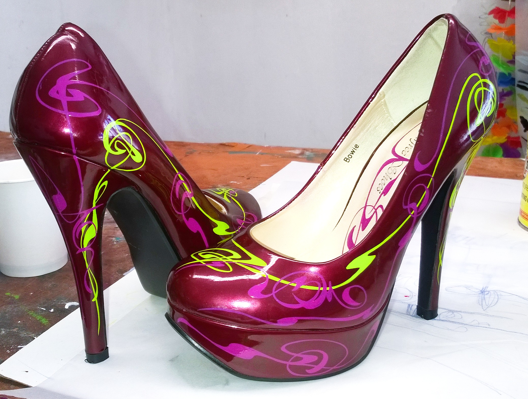 Wizzzcraft brushworks High Heel art nouveau