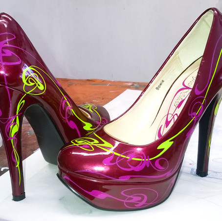 Wizzzcraft brushworks High Heel art nouv