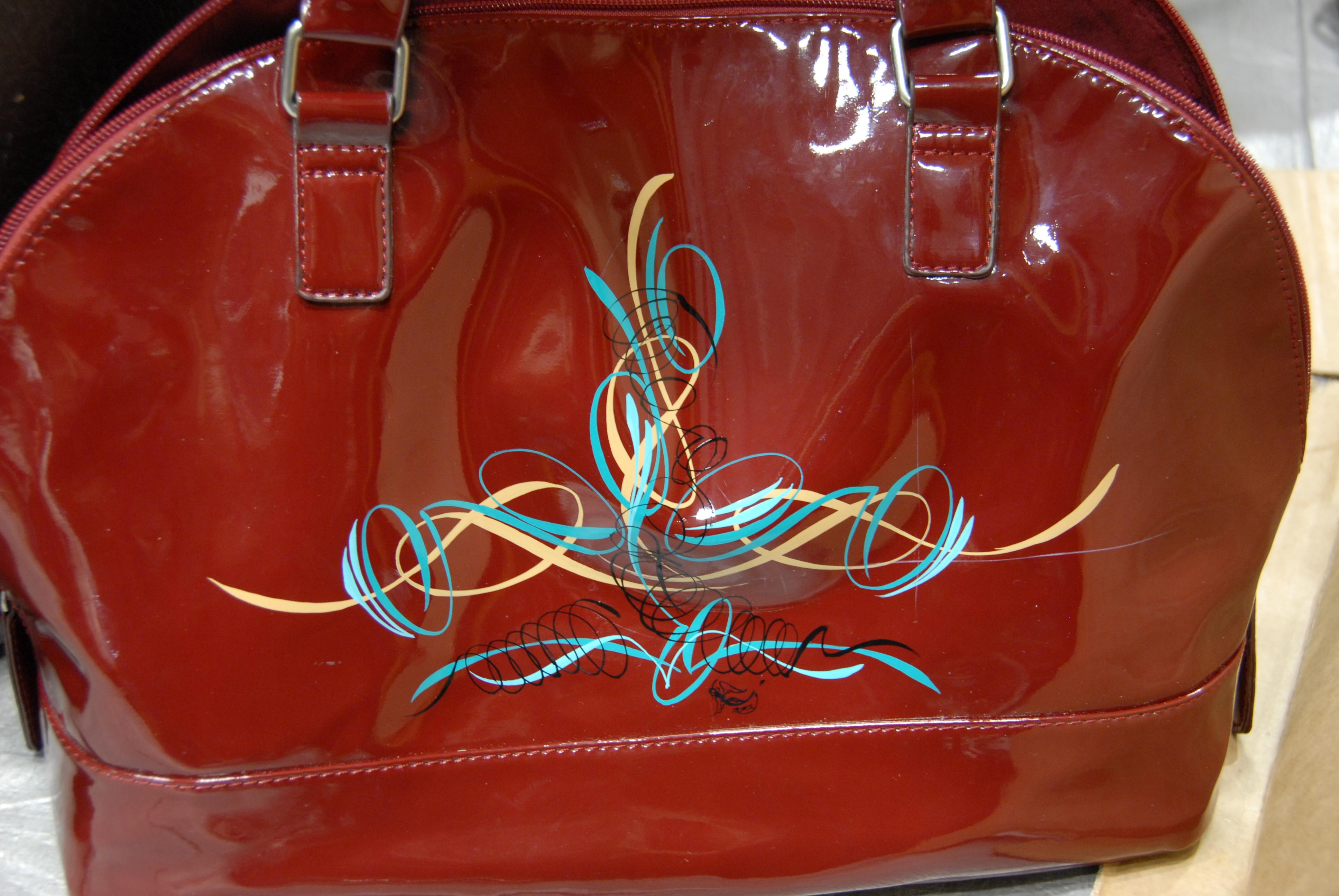 Wizzzcraft custom bag