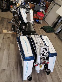 Scorll Harley Bagger