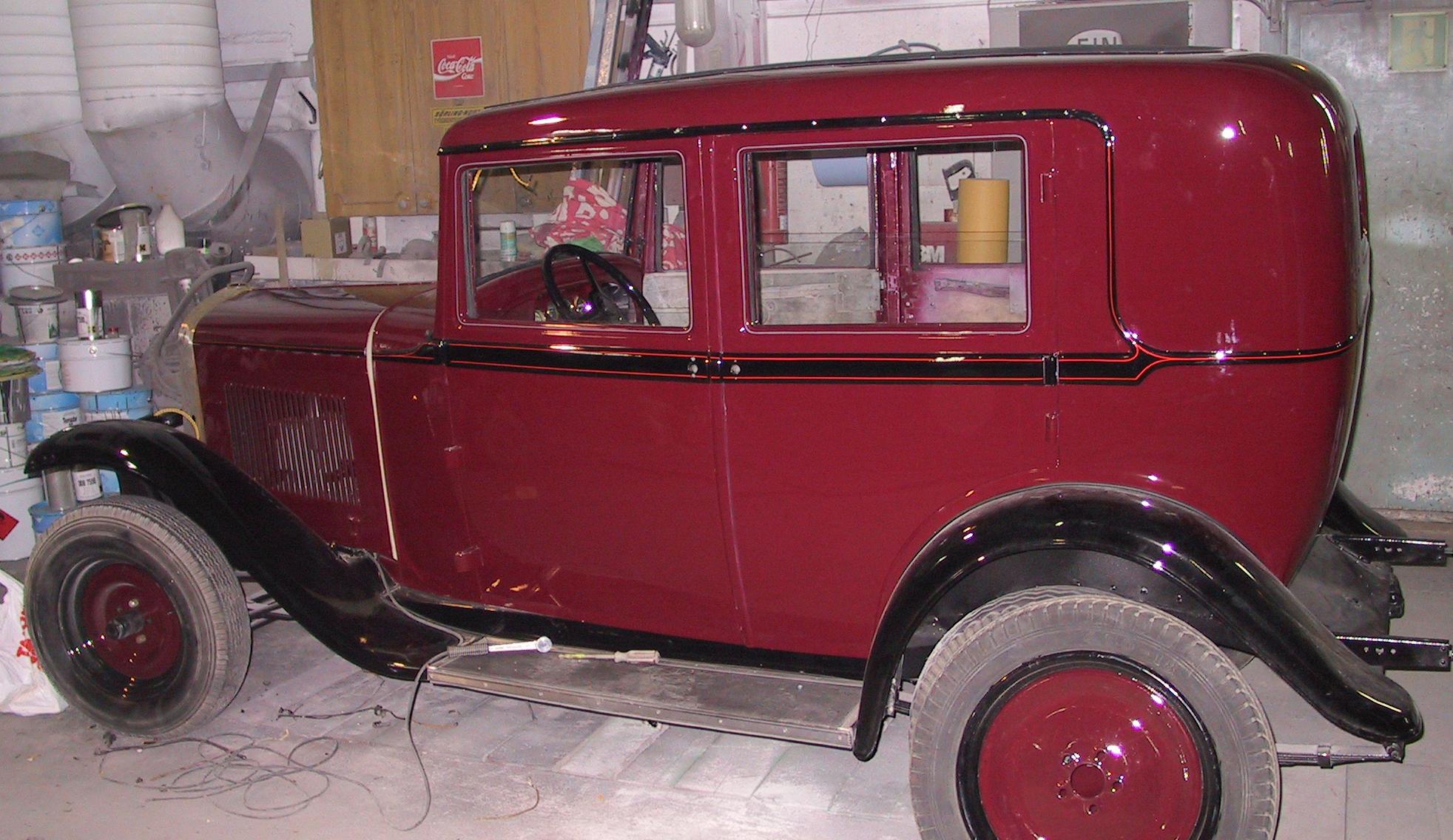 Wizzzcraft restoration stripe Opel