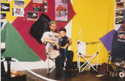 With Juho 1993