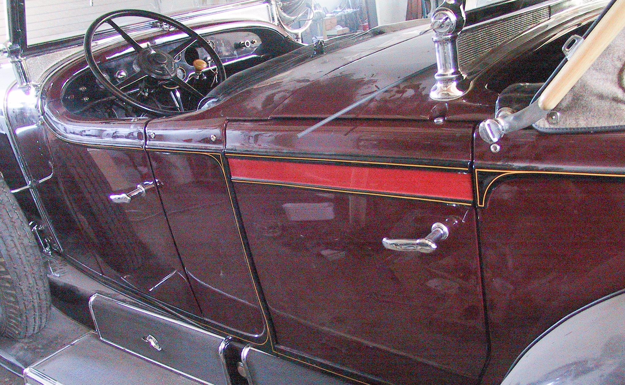 Wizzzcraft restoration stripe Cadillac D