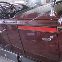 Wizzzcraft brushworks restoration stripe Cadillac D