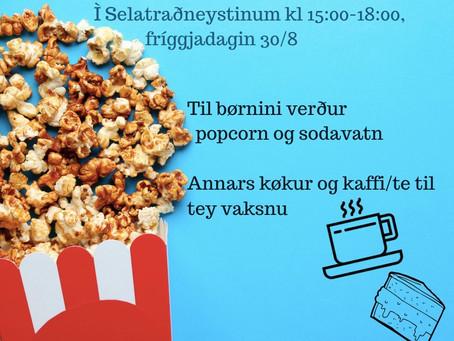 Sambandskafé í Selatraðneystinum
