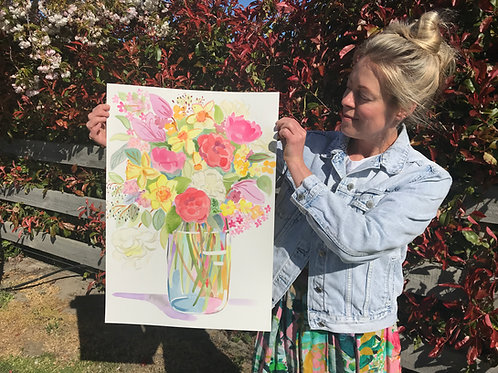 Big Spring Jumble - Original Painting