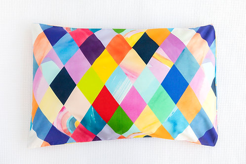 Harlequin Pillowcases x 2