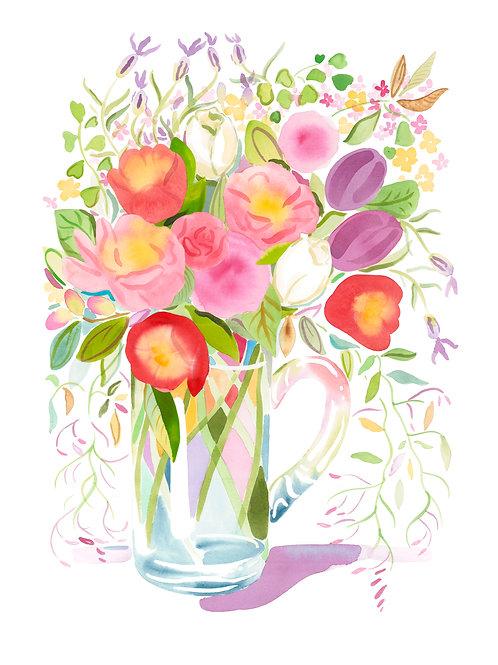 Tulip Jug - Original Painting