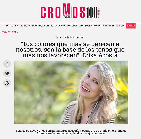 Erika Acosta, asesora de imagen, personal shopper, medellin, Colombia, asesoría de imagen medellin, fashion work, colorimetría, análisis del color