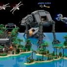 LEGO Blue Squadron Scarif Battle Star Wars Speical FX AwesomeClub Wallpaper 16 x 9.png