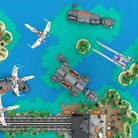 LEGO Blue Squadron Scarif Battle Star Wars 4 AwesomeClub Wallpaper 16 x 9.png