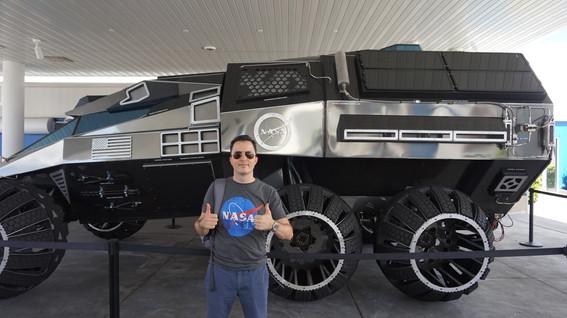 Steve with Mars Rover.JPG